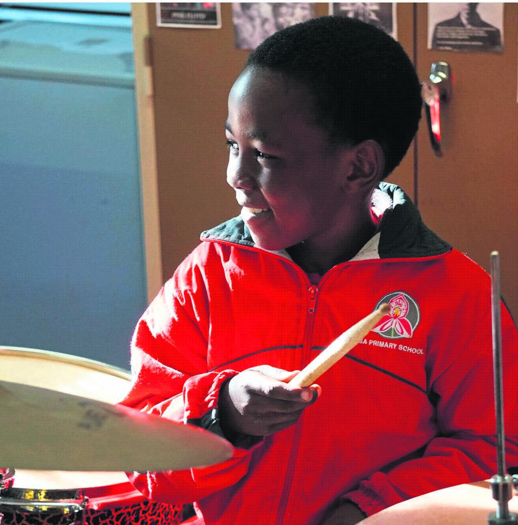Vusi, a learner at The Kronendal Music Academy, is the time-keeper. This has taught him to be accountable.