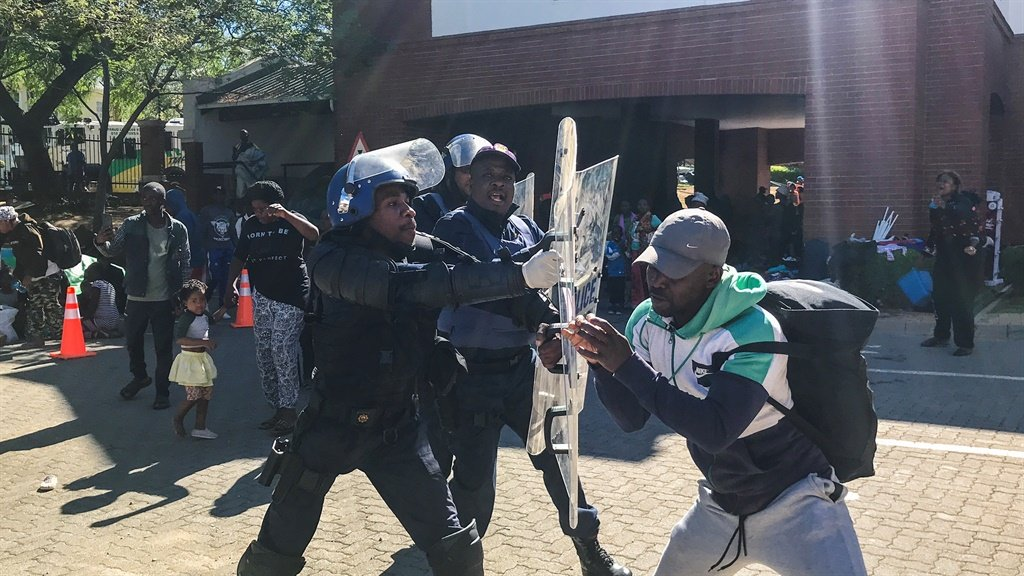 News24.com | Home Affairs committee chairperson Bongani Bongo condemns violence by refugees