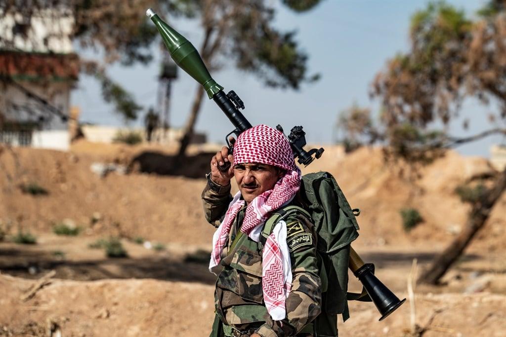War-torn Syria. (Delil Souleiman, AFP)