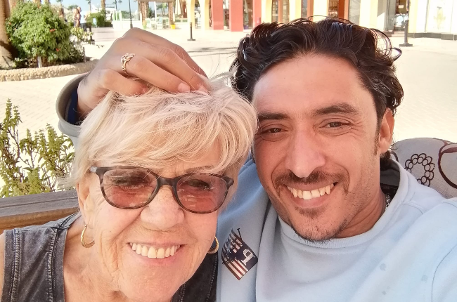 She's 80, he's 35 – and the handsome Egyptian claims he's smitten with the  British grandmother! | You