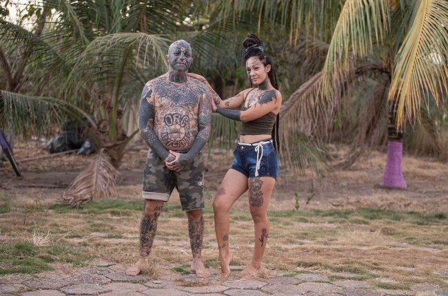 Orc and his wife Krishna are both body ink enthusiasts. (Photo: GALLO/ GETTY IMAGES)