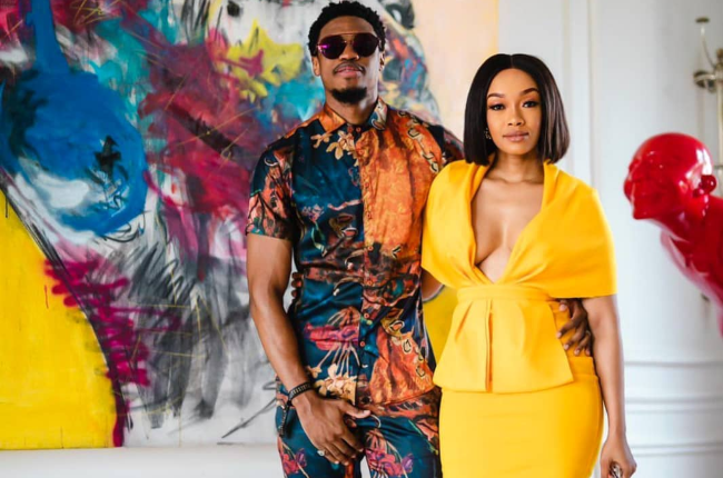 Dineo Langa and Solo Langa are known to be a stylish couple.