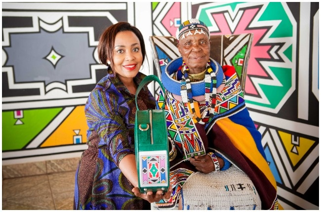 Carol Bouwer and Dr. Esther Mahlangu