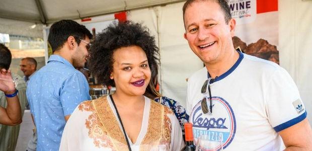 dan nicholl at the stellenbosch wine festival 2019