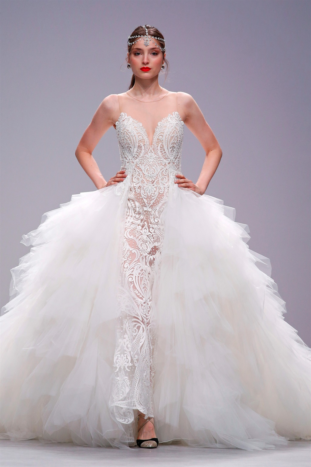 Here are 10 nude wedding dresses straight form the