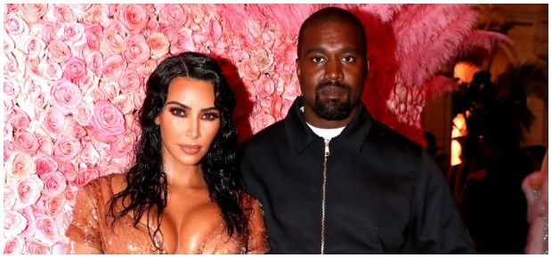 Kim Kardashian-West and Kanye West. (Photo: Getty