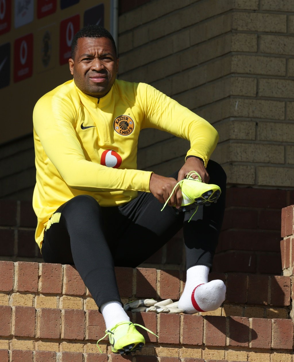 Itumeleng Khune of Kaizer Chiefs during Absa Premi
