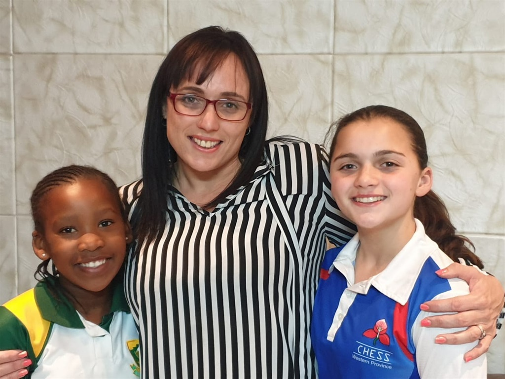 Amahle Zenzile, Marisa Laas and Trinity Van Beeck (Supplied by Back-a-Buddy