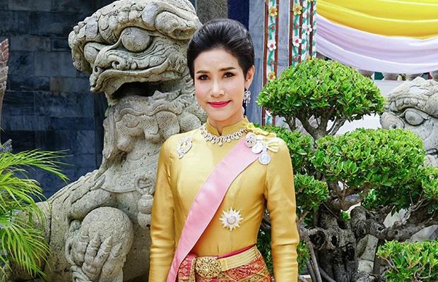 Royal noble consort Sineenat Bilaskalayani, also known as Sineenat Wongvajirapakdi. (AFP)