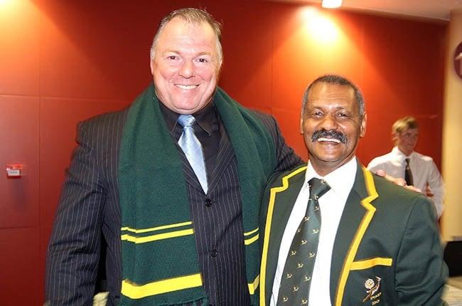 John Allan and former Springbok coach Peter de Villiers.