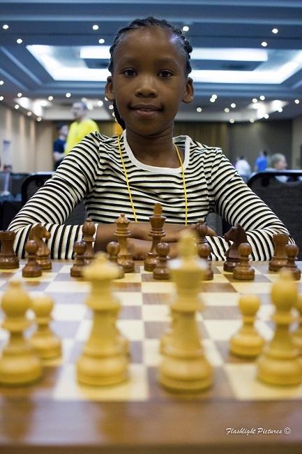 Chess champion Amahle Zenzile
