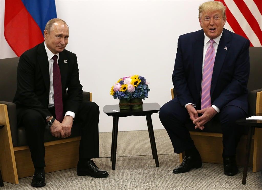 OSAKA, JAPAN - JUNE,28 (RUSSIA OUT) U.S. President