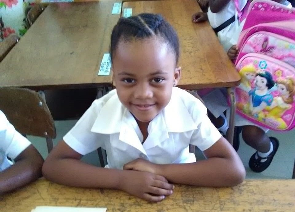 A KZN mother has pleaded for the safe return of her eight-year-old daughter Amahle Mthimkhulu who was alleged to have been snatched from outside school. (Mbali Mzimela, Supplied)