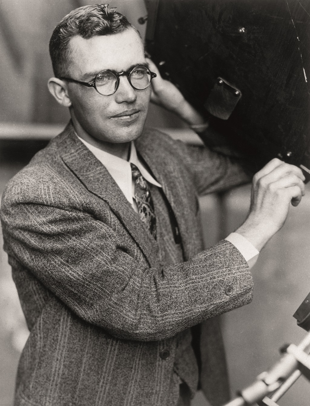Clyde Tombaugh is op 17 Januarie 1997 in sy huis i