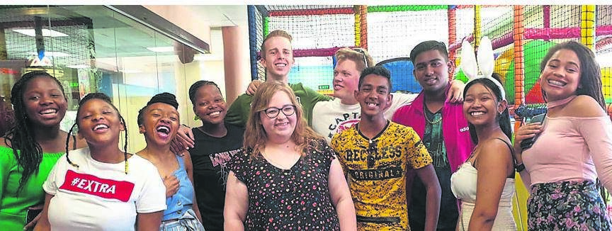 Maritzburg Christian School matric pupils were recently treated to a lovely farewell breakfast at Woodburn Service Station recently.PHOTO: supplied