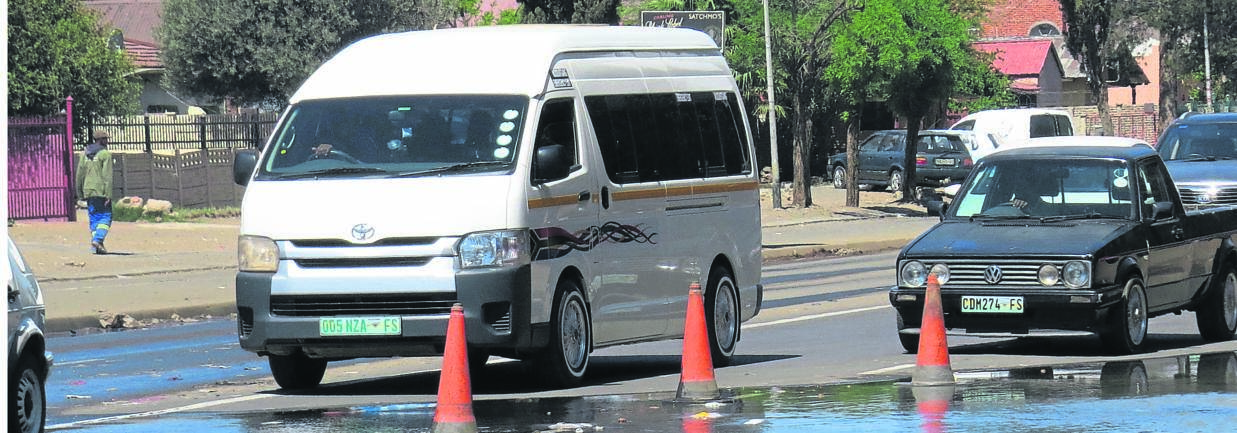 A Toyota Quantum Ses'fikile model was used in a study to increase the risk for passengers to contract airborne diseases. Photo: Teboho Setena