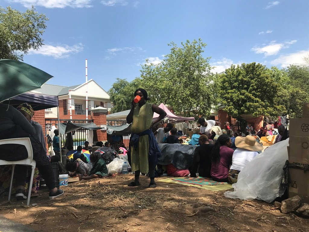 News24.com | Refugee sit-in: national, provincial SAPS commissioners join court application for their removal