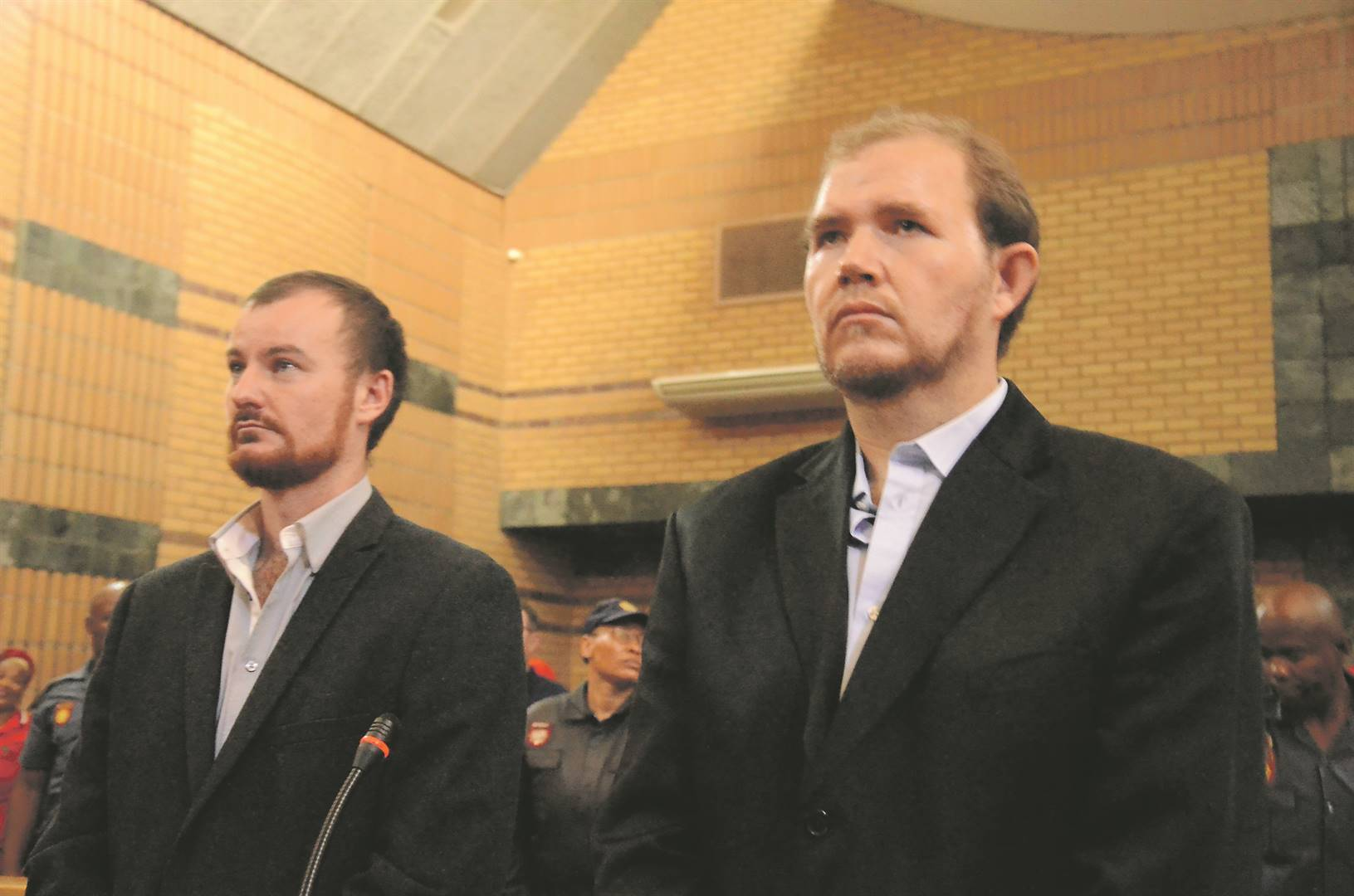 Pieter Doorewaard and Phillip Schutte were the two at the centre of the case.