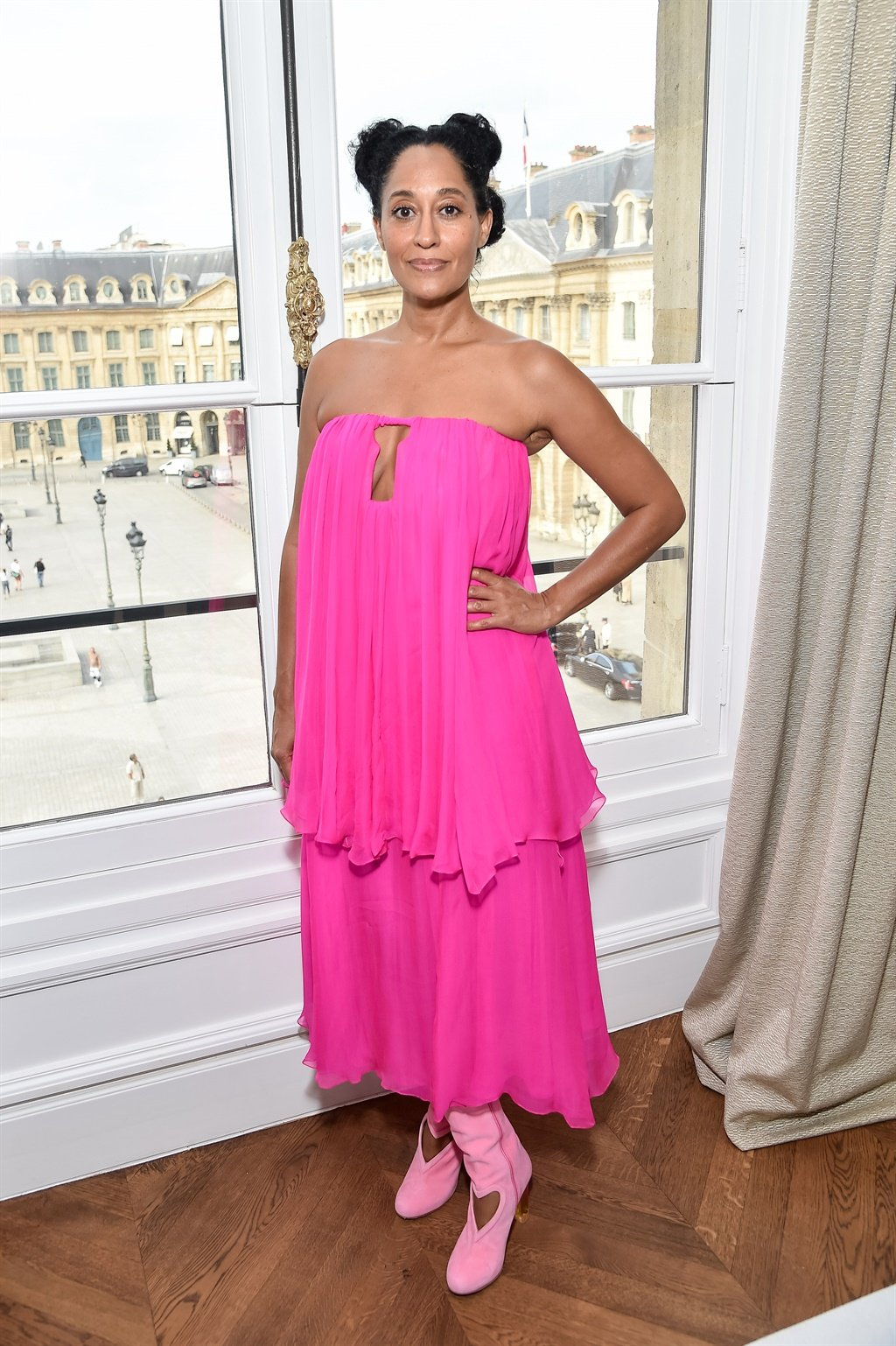 PARIS, FRANCE - JULY 03: Tracee Ellis Ross attend