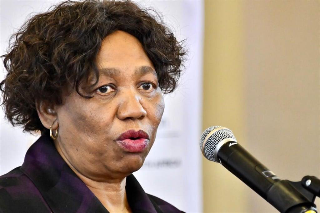 Minister of Basic Education Angie Motshekga.