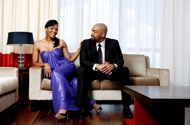 Connie and Shona Ferguson's love story through the years.
