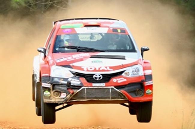 Six out of six! Toyota's Botterill finishes rally season unbeaten