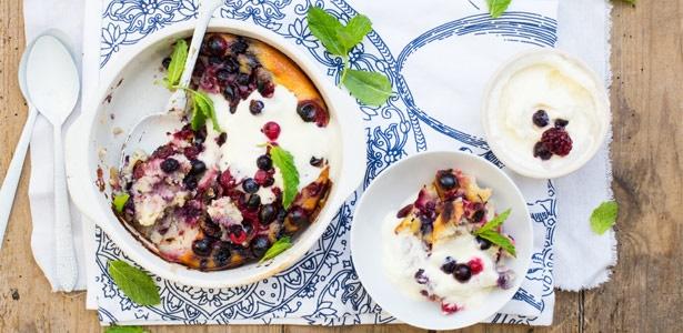 recipe, lchf, banting, dessert, fruit, berries,coc