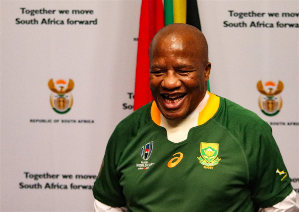 News24.com | 'Bring it back home, Bokke!' - Jackson Mthembu calls on all South Africans to rally behind team