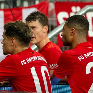 Philippe Coutinho and Serge Gnabry