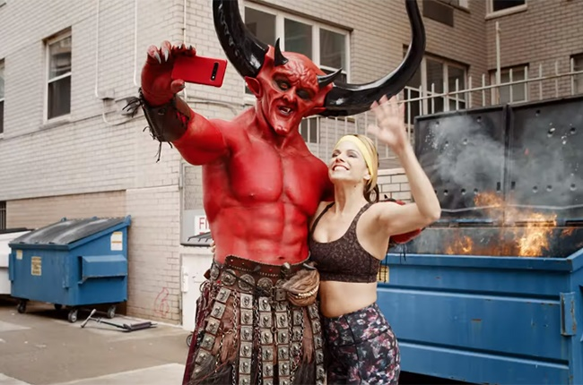 Satan meets 2020 in Ryan Reynolds' new ad for Match.