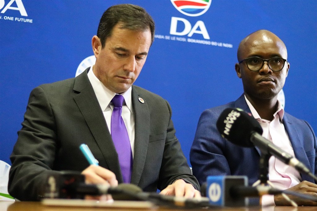 News24.com | 'No regrets' as Steenhuisen expects Tshwane to go the same way as Jo'burg