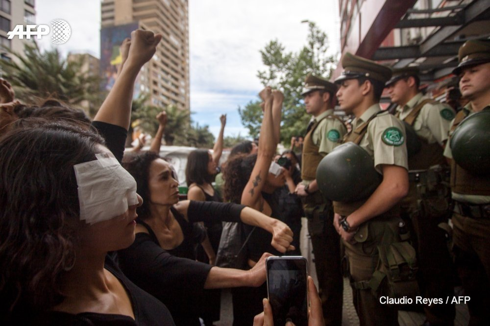 News24.com   Nobel Peace winner calls on Chile to end police abuses of protesters