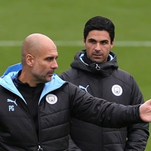 Sport24.co.za | Guardiola backs Arteta as future Man City boss