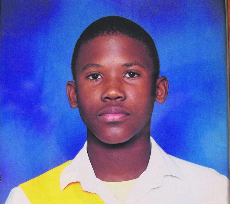 Hershel Fynn (18) was stabbed to death outside Eastwood Secondary School last month.