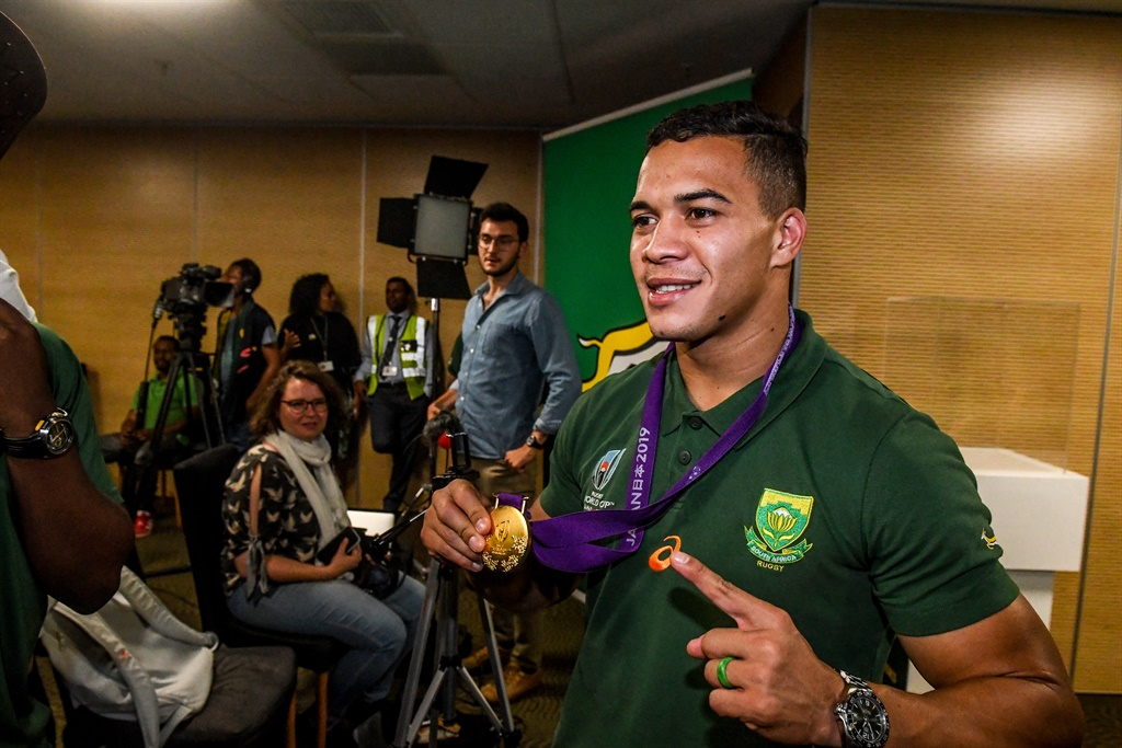 'I just want to hold Cheslin for a couple of seconds' - Bok speedster's dad hopes to make most of week together
