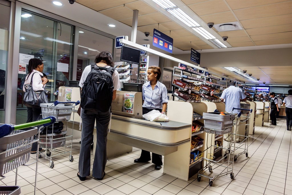 South Africa Cape Town City Center Pick n Pay groc