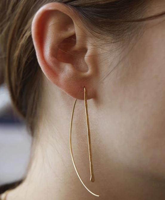 locally designed earrings