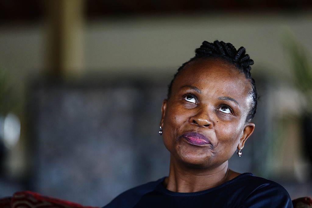 Embattled Public Protector Busisiwe Mkhwebane is heading to court to halt the parliamentary process to investigate her fitness to hold office – a process that could lead to her ouster. Picture: Getty Images