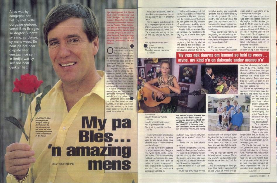 Huisgenoot, 6 April 2000