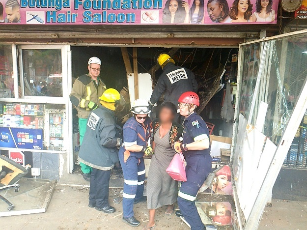 News24.com | WATCH | Several injured in Durban building collapse