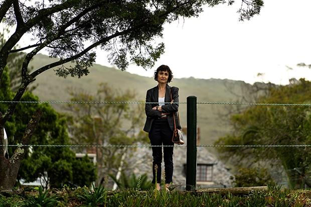 Rolanda Marais as Milla Strachan in 'Trackers'.