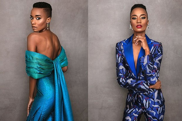 Channel24.co.za | 17 breathtakingly beautiful photos of the newly crowned Miss Universe  Zozibini Tunzi by South African photographer Garreth Barclay