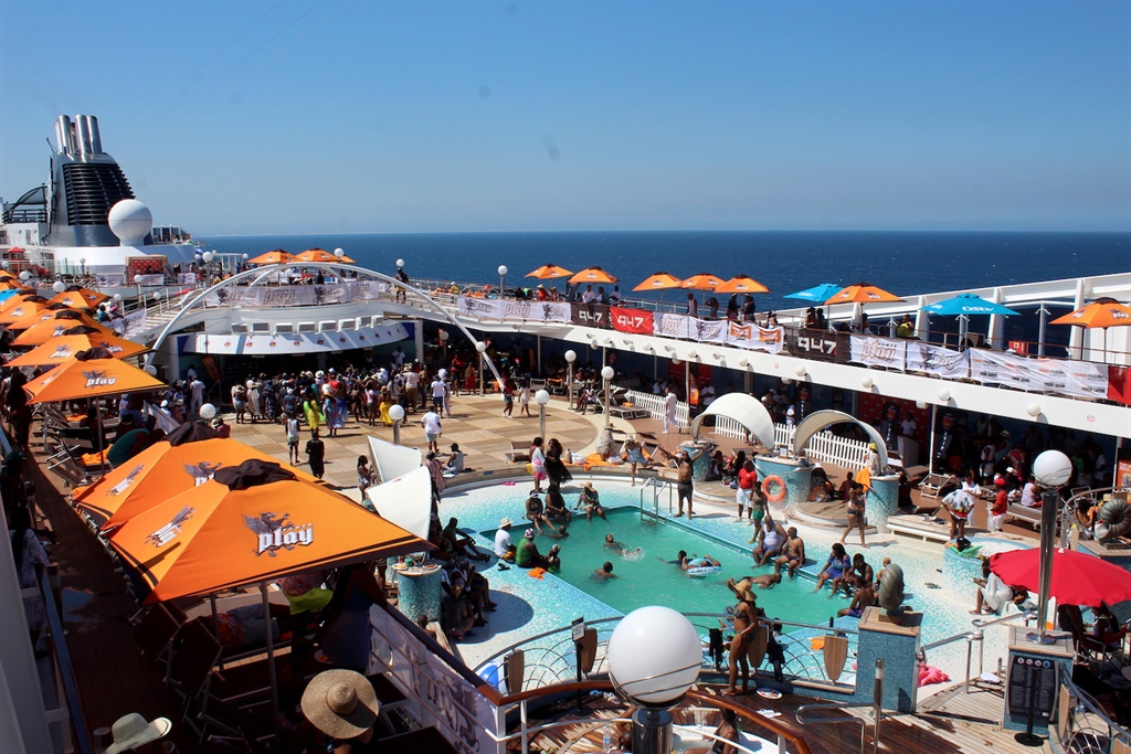 A novel idea: Throw a 72 hour long party on a luxury liner...great move. Pictures: Supplied
