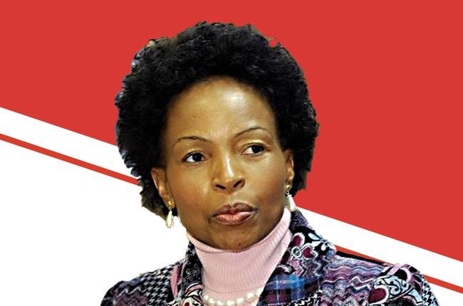 Minister Maite Nkoana-Mashabane