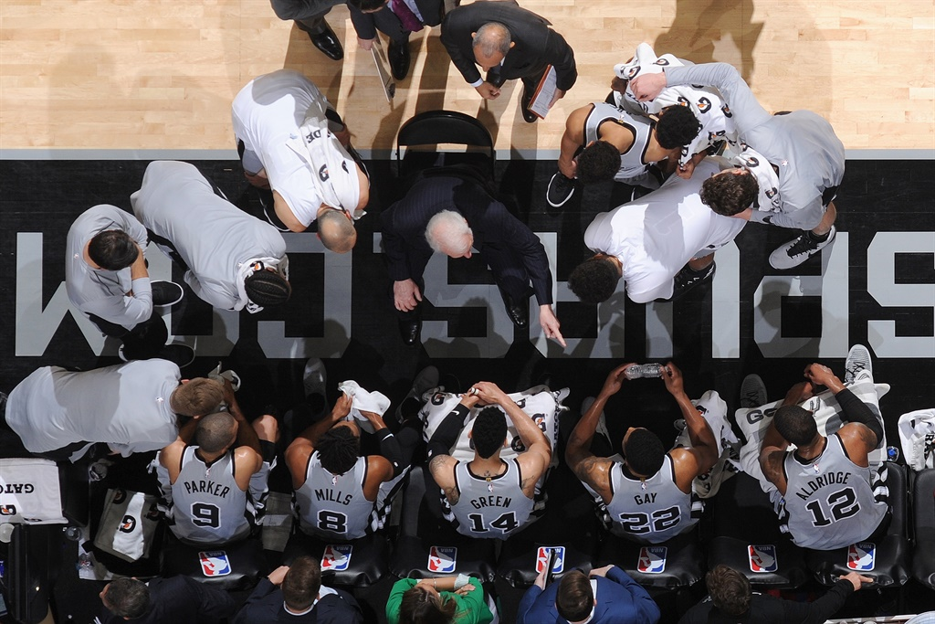 San Antonio Spurs.Picture: Supplied/ Mark Sobhani/NBAE/ Getty Images