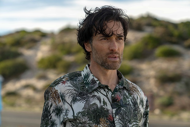 Ed Stoppard as Lucas Becker in Trackers