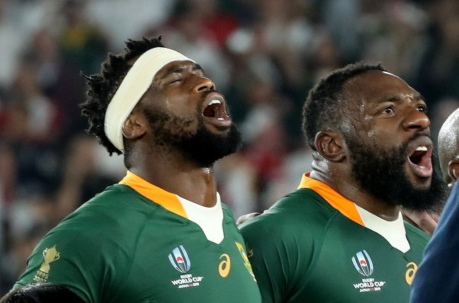 Siya Kolisi and Beast Mtawarira were Springbok team-mates for a substantial side, but miss out playing together at the Sharks. (Photo by David Rogers/Getty Images)