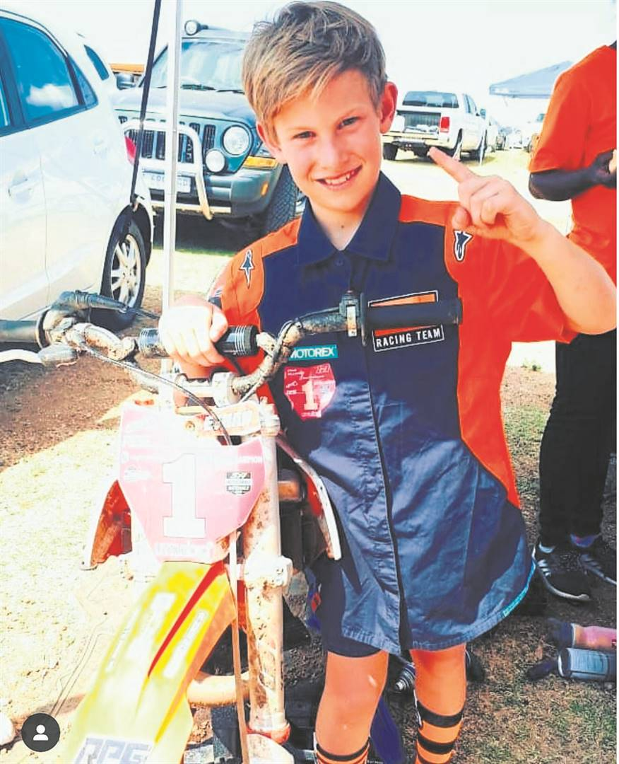 Ethan Williamson won the TRP Motosport South Africa National Motocross 50cc Junior title (six to nine) last month.