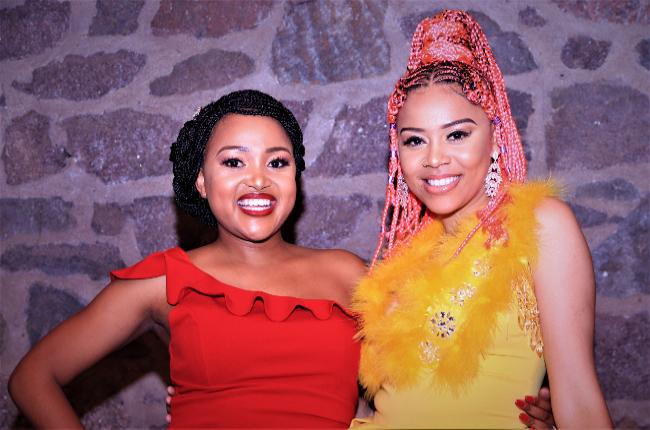 Muvhango actress Liteboho Molise and  Sho Madjozi