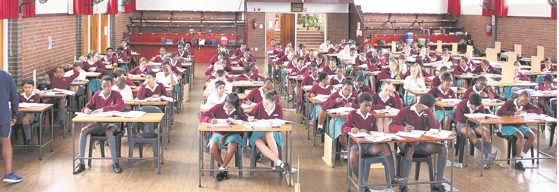 Pelham Senior Primary wishes all pupils every success as they sit to write their final exams for 2019. PHOTO: SUPPLIED